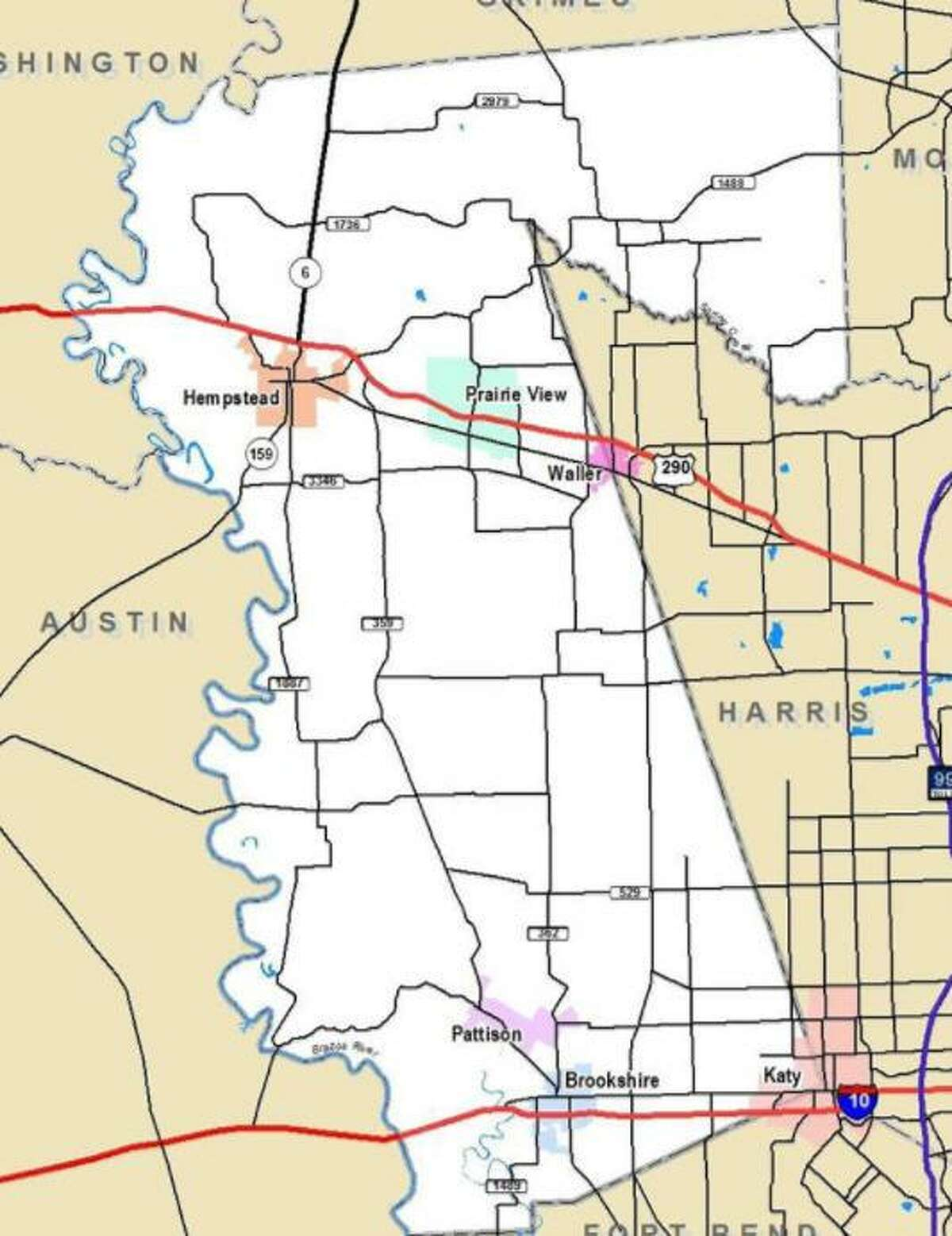 The Houston-Galveston Area Council is partnering with Waller County to create a transportation plan for the county.