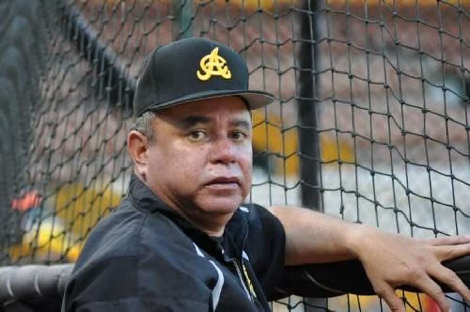 Former Cuidad del Carmen and Monterrey manager and 10-year MLB veteran Felix Fermin was hired by the Tecolotes Dos Laredos Monday. He replaces Eddy Castro, who has been with the organization since 2014 when it was in Veracruz. Photo: Courtesy Of Tecolotes Dos Laredos, File