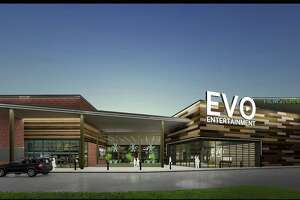 San Marcos-based Evo Entertainment Group plans to open a 73,000-square-foot entertainment megaplex with 10 dine-in movie theaters and 16 lanes of bowling in February 2019 at the new Wiederstein Ranch retail development in Schertz, the company announced recently.
