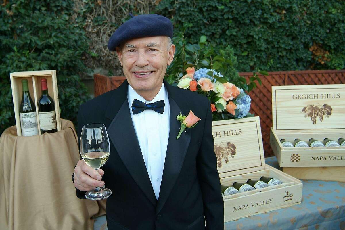 Vintner Mike Grgich was honored by the Napa Wine Community at an auction that raised $50K establish the Miljenko �Mike� Grgich Scholarship for Professional Wine Studies at the Culinary Institute of America. Credit: TK Ran on: 10-29-2006 Miljenko Mike Grgich was honored by the Culinary Institute of America.