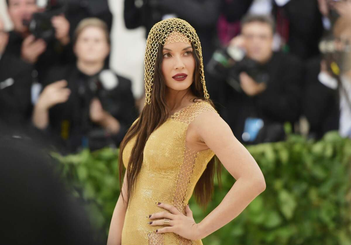 Olivia Munn attends the Heavenly Bodies: Fashion & The Catholic Imagination Costume Institute Gala at The Metropolitan Museum of Art on May 7, 2018 in New York City.