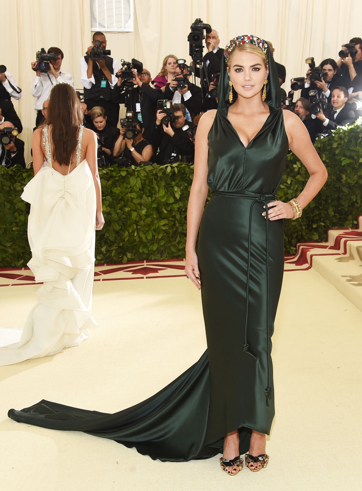 6060a789c4 A glorious red carpet at the Met Gala 2018  Best and worst dressed  celebrities