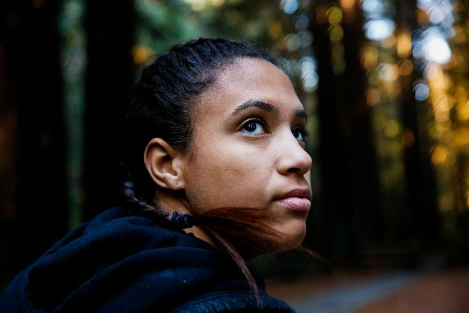High school student Carmel Evans was 18 and had bouts of depression before attending Camp Everytown in Boulder Creek in October 2017. She had a habit of cutting her arms when under emotional pressure. She cut herself as many as nine times during the four days she was at the camp. Photo: Gabrielle Lurie / The Chronicle