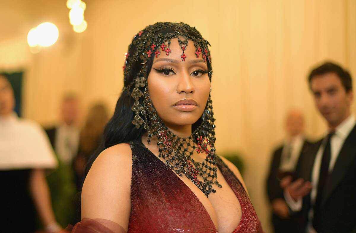 NEW YORK, NY - MAY 07: Nicki Minaj attends the Heavenly Bodies: Fashion & The Catholic Imagination Costume Institute Gala at The Metropolitan Museum of Art on May 7, 2018 in New York City. (Photo by Matt Winkelmeyer/MG18/Getty Images for The Met Museum/Vogue)