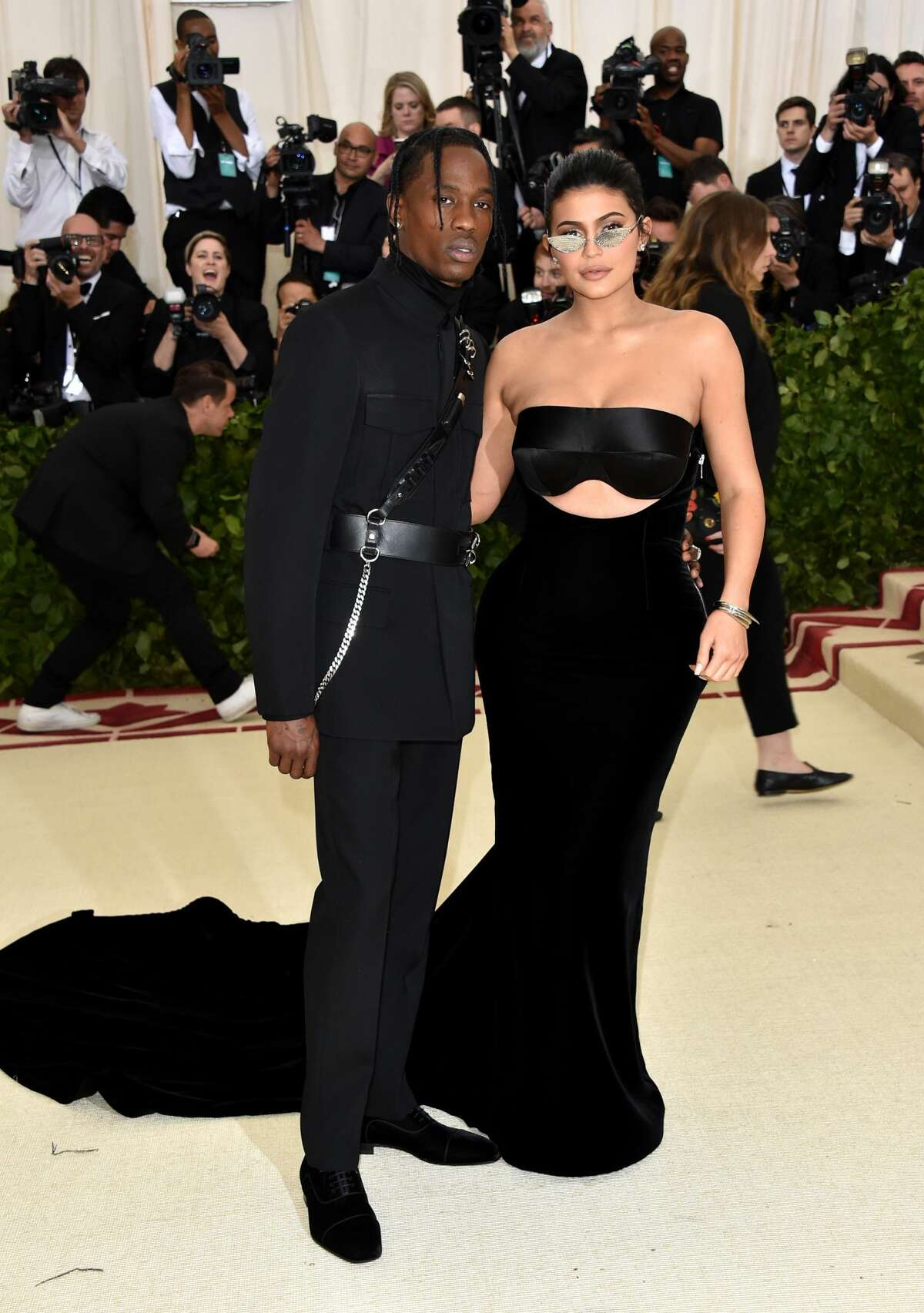 It's thought that Kylie Jenner is in Houston this weekend with her boyfriend Travis Scott. Scott, who hails from Missouri City, is set to host Astroworld festival at NRG Park on November 17. (Photo by John Shearer/Getty Images for The Hollywood Reporter)