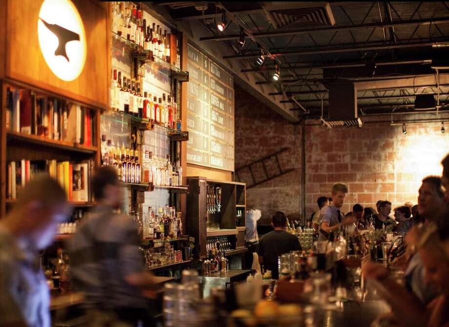 Anvil Bar & Refuge is located at 1424 Westheimer in Montrose. Photo: Julie Soefer