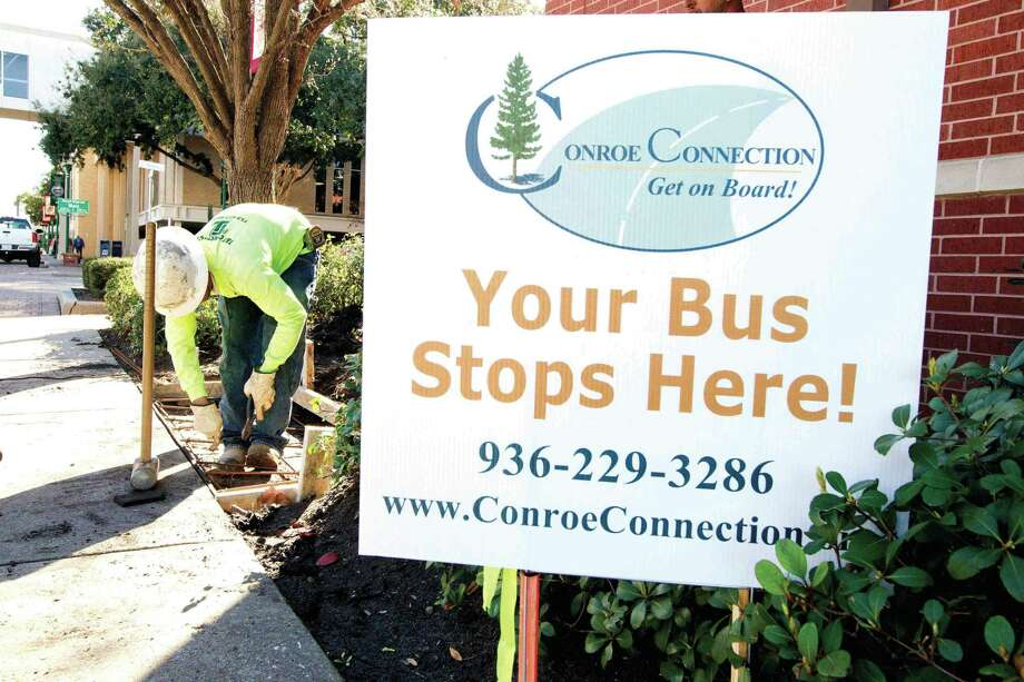 The city of Conroe is hosting an open house regarding proposed routes for the Conroe Connection Transit fixed route bus service. The open house will be at 6 p.m. at the Booker T. Washington Park Pavilion, 813 S. 1st St. Photo: Jason Fochtman / Internal