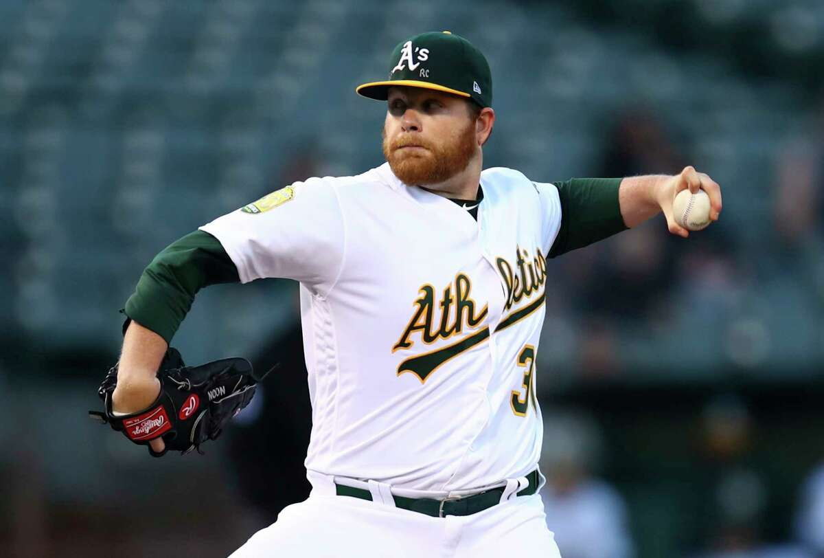 Pitcher Brett Anderson is one of several key players the A's will have to replace.
