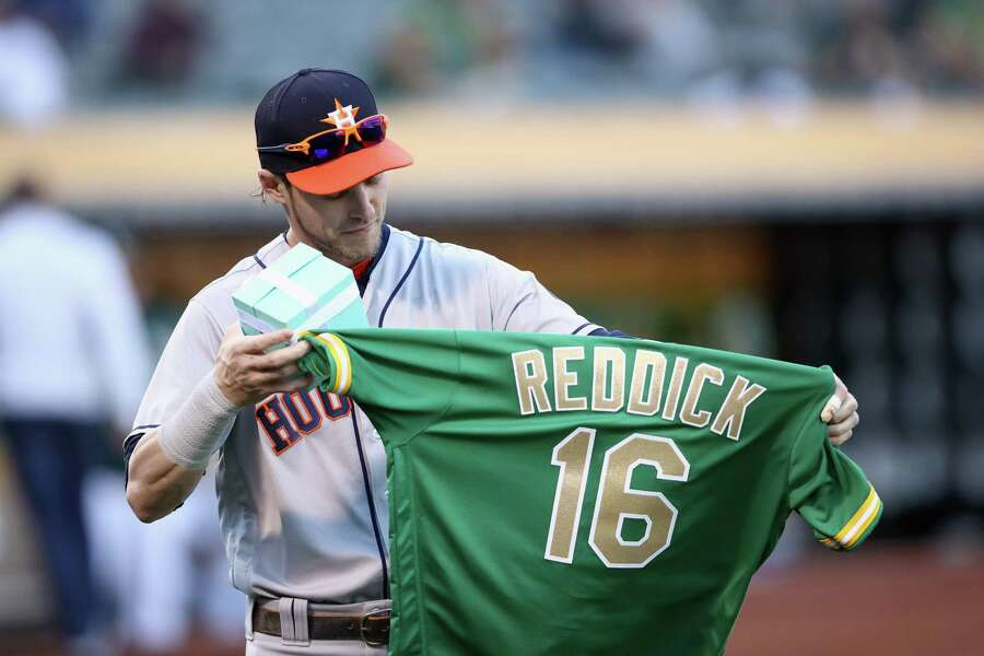 reputable site ed5b3 2ebd1 Astros' Josh Reddick clarifies comments regarding Oakland ...