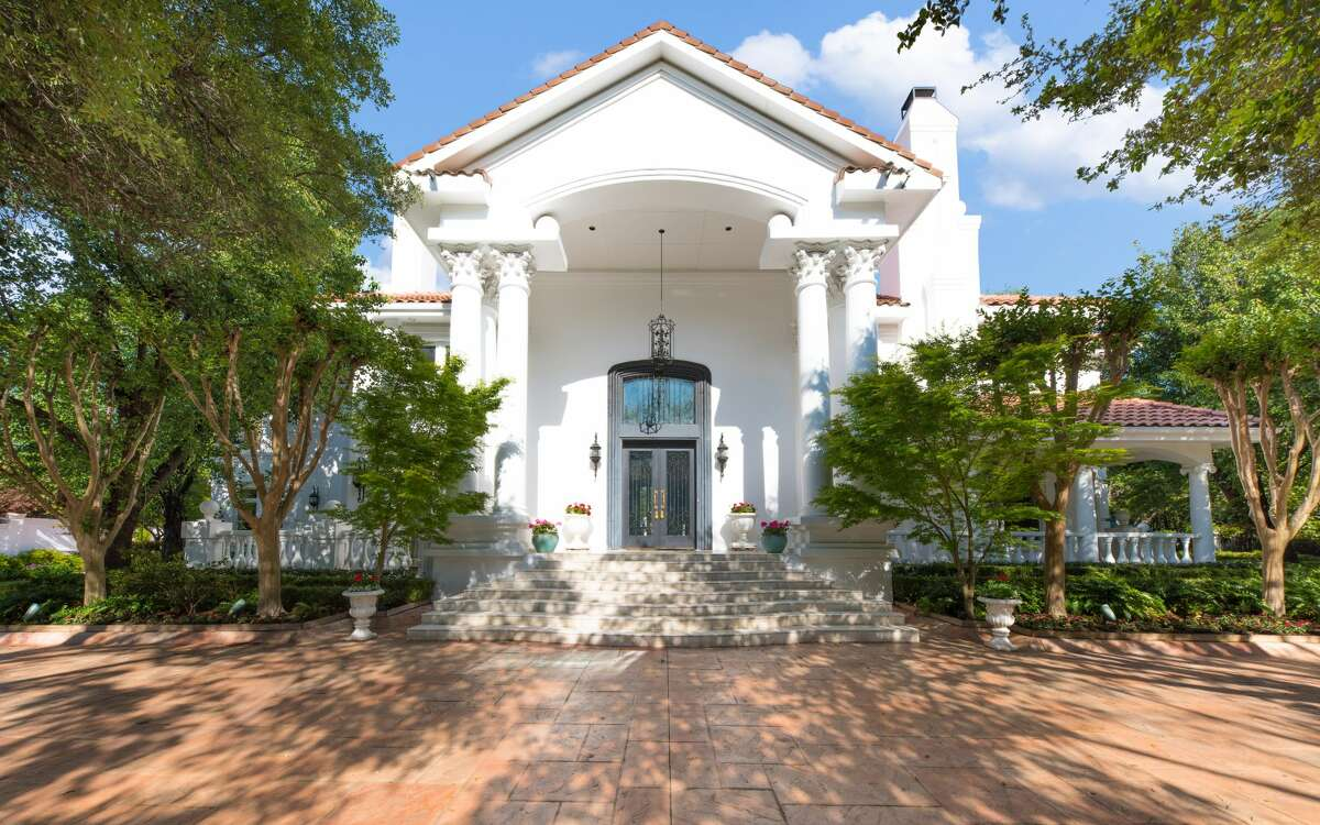 An 18,288-square-foot mansion at 9006 Douglas Ave. is on the market for nearly $13 million. The home comes with eight bedrooms, eight full bathrooms and an 822-square-foot guest house.