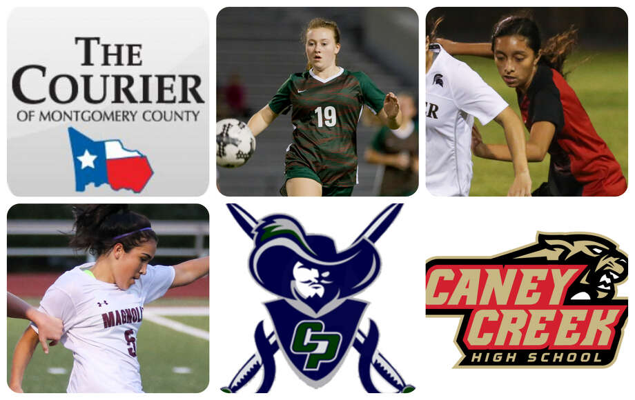 The Woodlands' Grace Stine, Caney Creek's Julia Mendoza, Magnolia's Izzy Cardenas, College Park's Faith Autery and Caney Creek's Alyn Zamudio are The Courier's nominees for Newcomer of the Year.