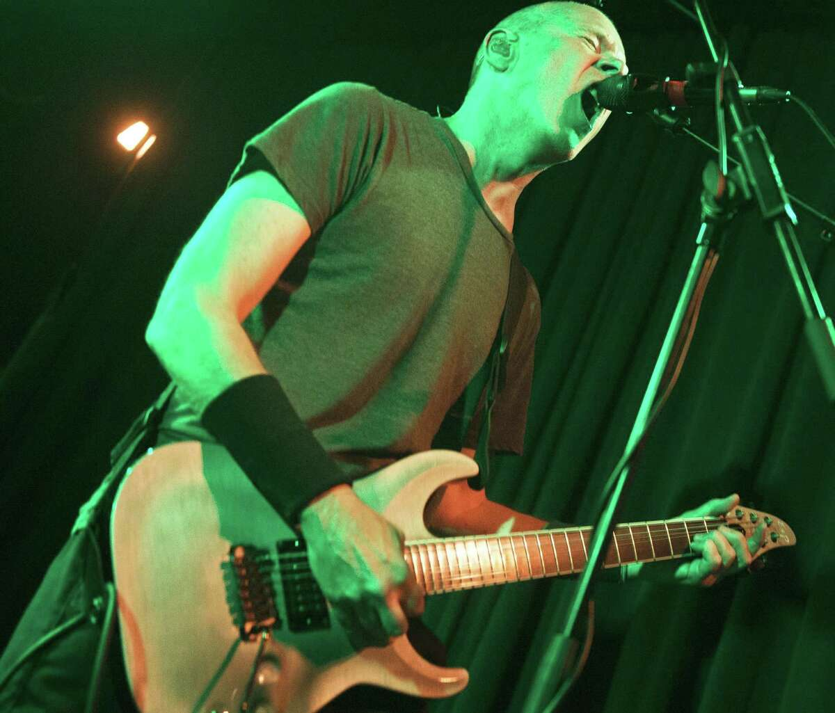 New York metal bands Helmet and Prong, which both emerged in the '90s from New York's storied CBGB club, are on the road together. Featuring guitar great Page Hamilton (pictured), Helmet's 1992 album