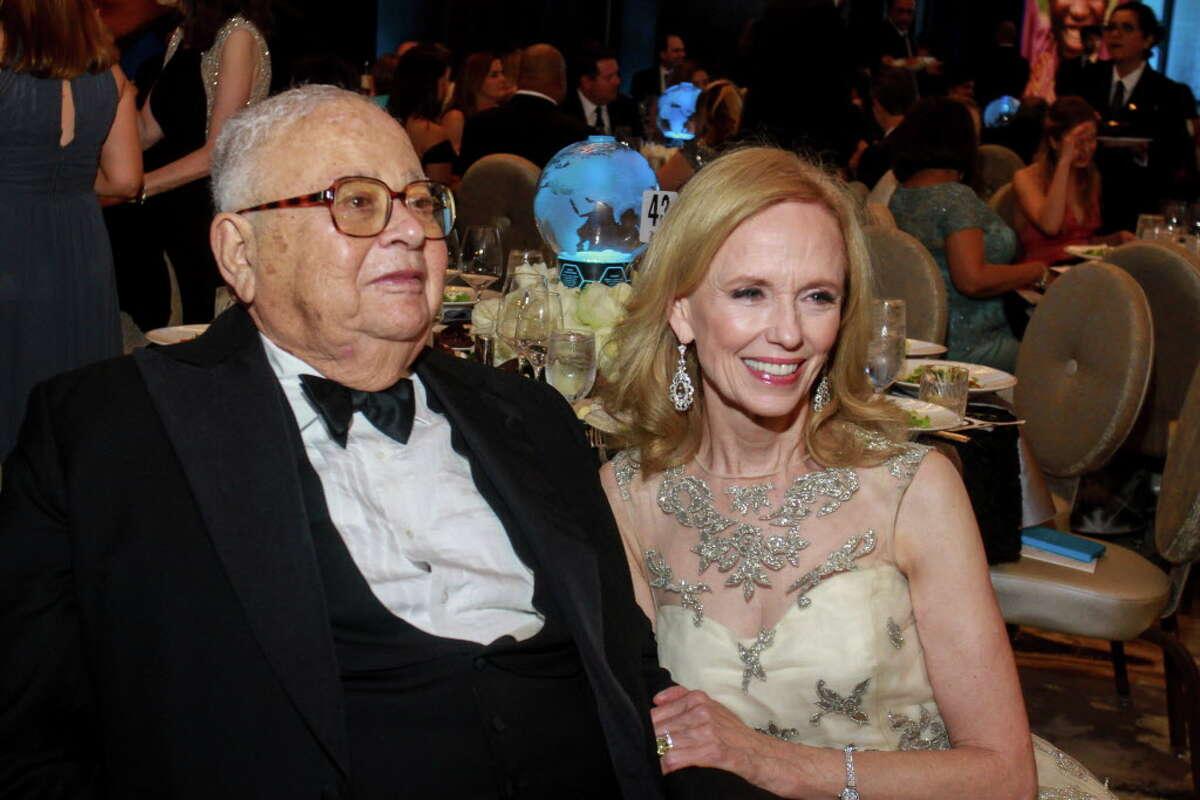 Fayez and Susan Sarofim at the UNICEF Gala.