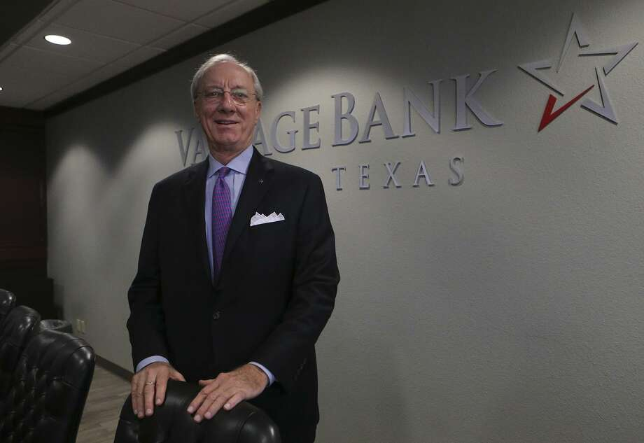 """The Collins family of McAllen now owns all of San Antonio's Vantage Bank Texas after acquiring the minority shares. Guy Bodine, the bank's chairman, CEO and president, said the deal represented a """"fair price"""" to minority shareholders. Photo: John Davenport /San Antonio Express-News / ©San Antonio Express-News/John Davenport"""