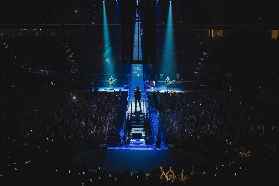 U2 performs in Tulsa, Oklahoma on May 2, 2018 during the eXPERIENCE + iNNOCENCE TOUR 2018. Photo Danny North Photo: Danny North