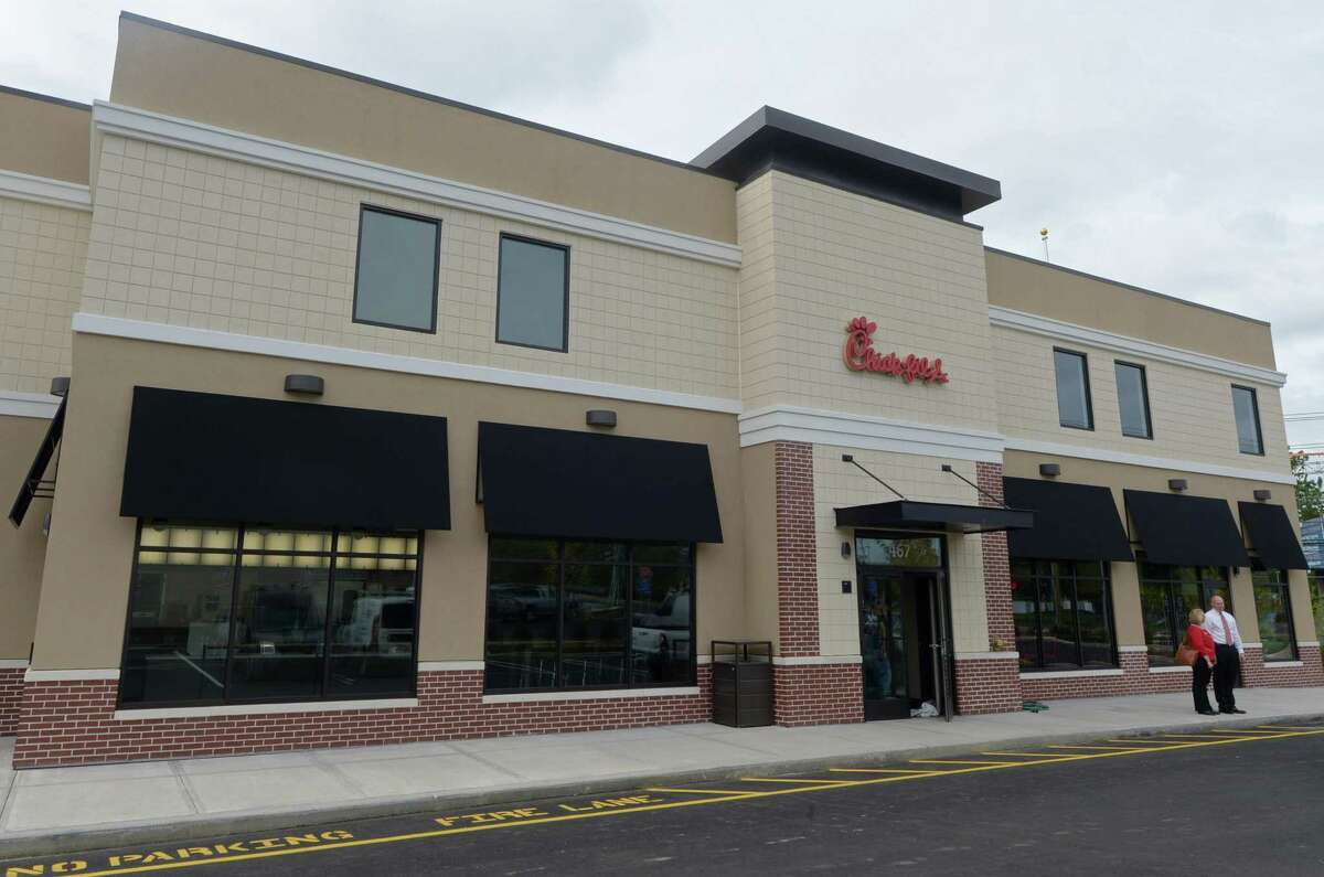 A Chick-fil-A restaurant on Connecticut Avenue in Norwalk