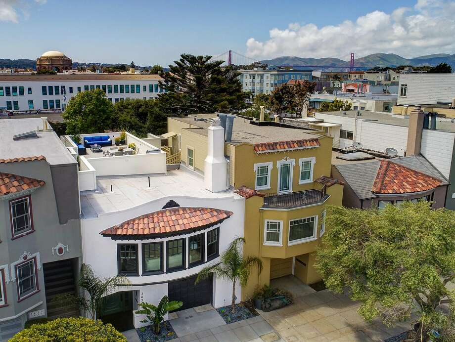 3621 Scott St. in the Marina District is a four-bedroom available for $4.475 million. Photo: Jason Wells Photography