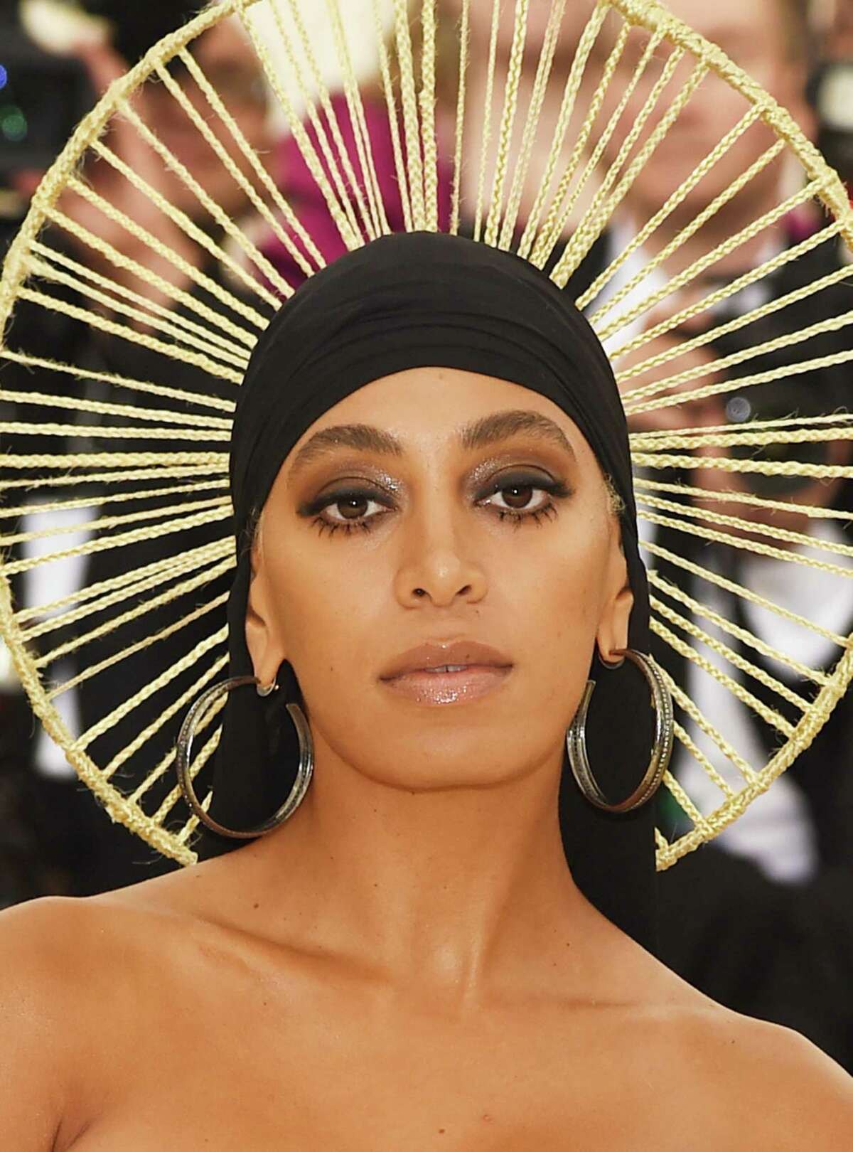 Solange Knowles at the Heavenly Bodies: Fashion & The Catholic Imagination Costume Institute Gala.