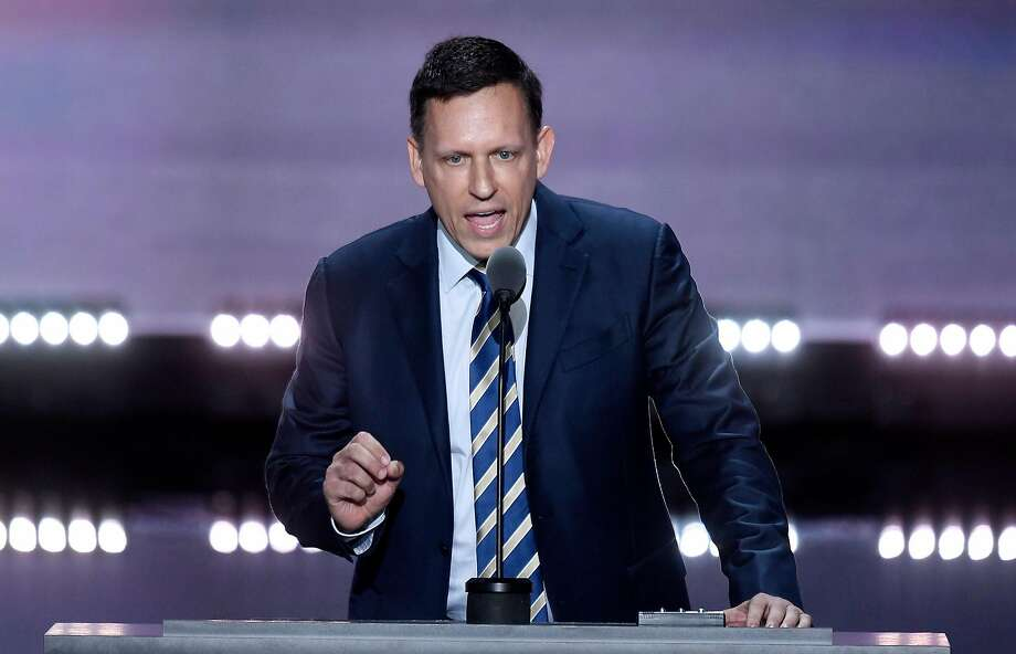 Peter Thiel has found himself in the center of the debate over the Iran nuclear deal. His firm's technology is used by the International Atomic Energy Agency. Photo: Olivier Douliery / Abaca Press 2016