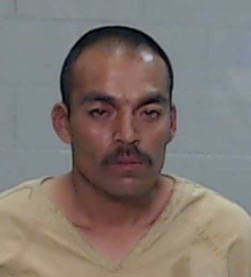 Noe Garcia Galan was arrested yesterday by Border Patrol and transported to the Ector County Law Enforcement Center. Photo: Odessa Police Department