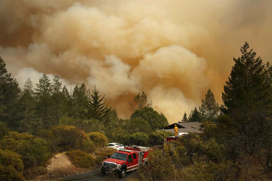 The Wine Country Fires, which killed 45 people, were the deadliest and most destructive wildfires in state history. Photo: Michael Macor / The Chronicle 2017