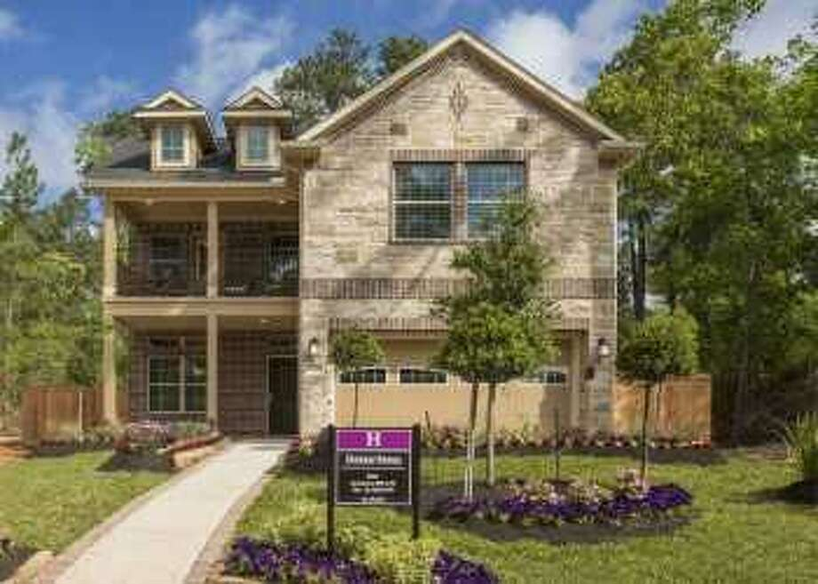Chesmar Homes has opened its first model home in The Woodlands Hills. The Elena plan is among its Fortunata Collection, which includes one, one-and-a-half, and two-story homes. Photo: Courtesy Photo