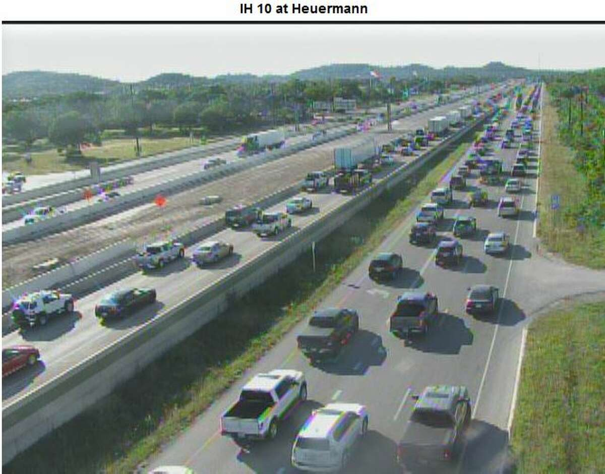 9. Interstate 10/U.S. 87 from Boerne Stage Road to North Loop 1604 Congestion adds 10 minutes to a 20 minute trip. Annual congestion cost: $25,097,309 Annual hours of delay: 1,109,637