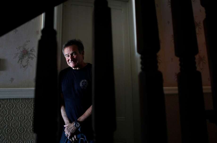 Robin Williams: an extraordinary talent and an uneasy man. Photo: Carlos Avila Gonzalez / The Chronicle 2014