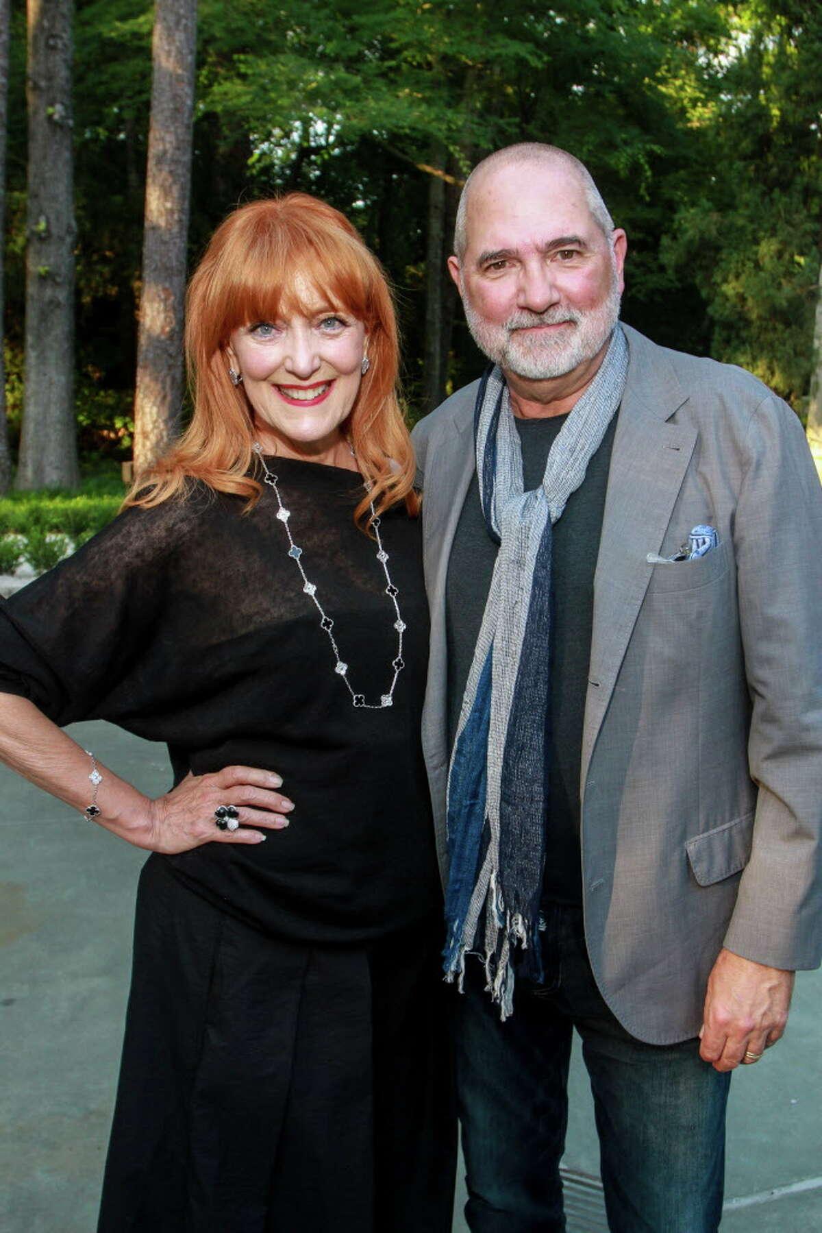 Gracie and Bob Cavnar at Recipe for Success's