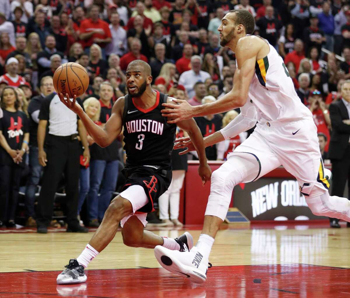 Chris Paul: The Rockets' other star guard is known as