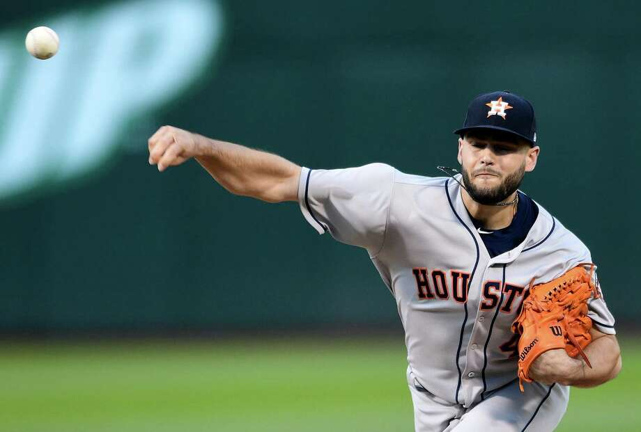 Astros starter Lance McCullers Jr. has changed up his repertoire some this season, as evidenced in Tuesday's win at Oakland. Photo: Thearon W. Henderson, Getty Images / 2018 Getty Images