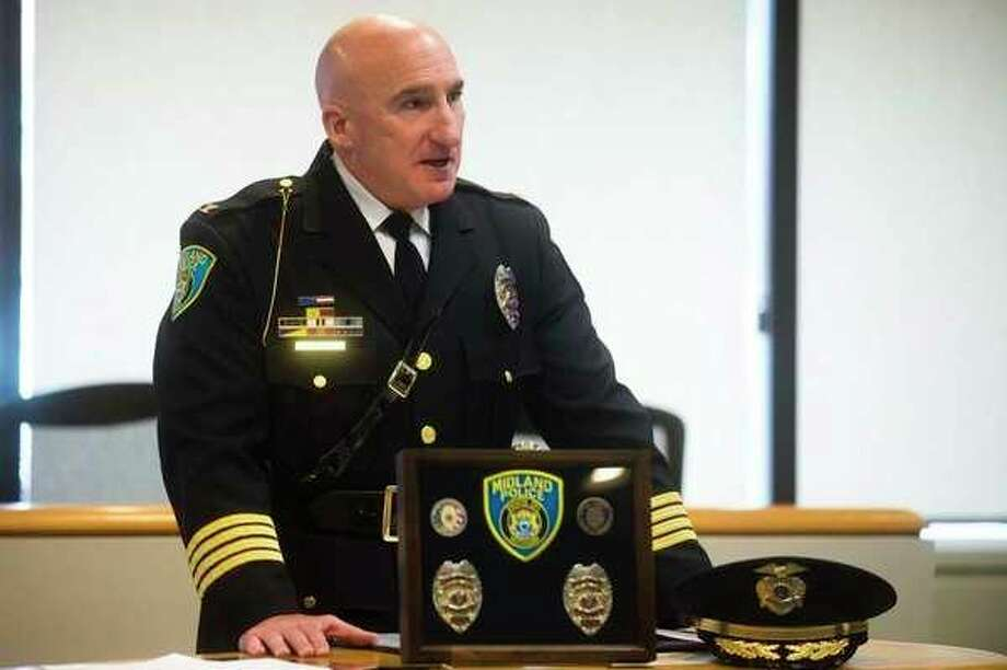 Midland Police Chief Clifford Block (Daily News File Photo)