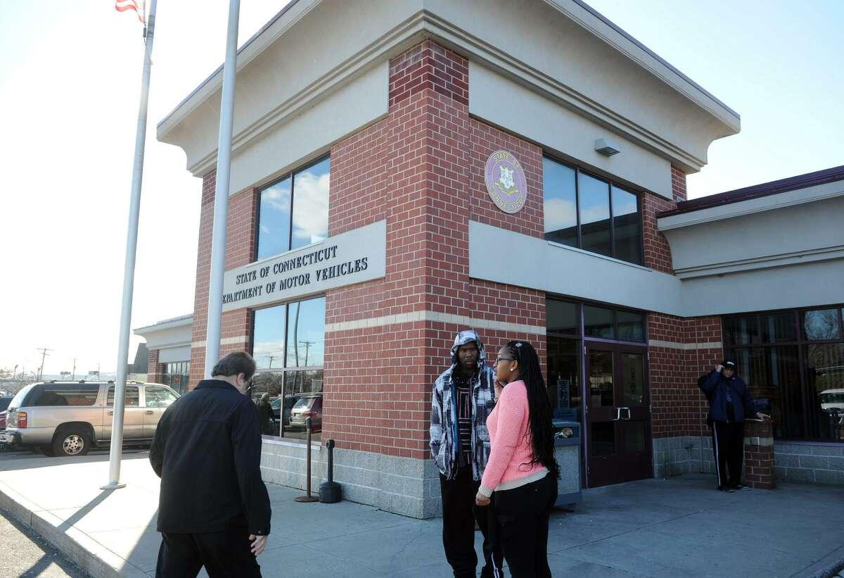 The Department of Motor Vehicle branch office in Bridgeport, Conn. Jan. 13, 2016.