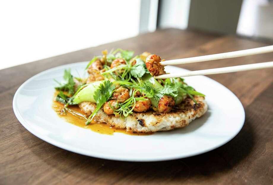 Crawfish and Noodles at UB Preserv Photo: Julie Soefer