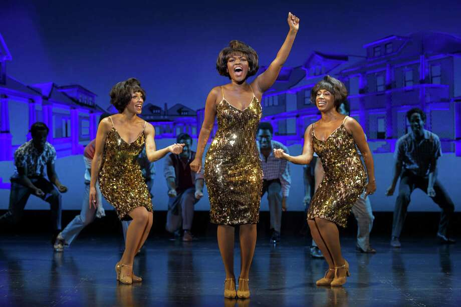 "Nya Trysha (Martha Reeves) and the cast of ""Motown the Musical."" Photo: Photo By Joan Marcus / ©2017 Joan Marcus"