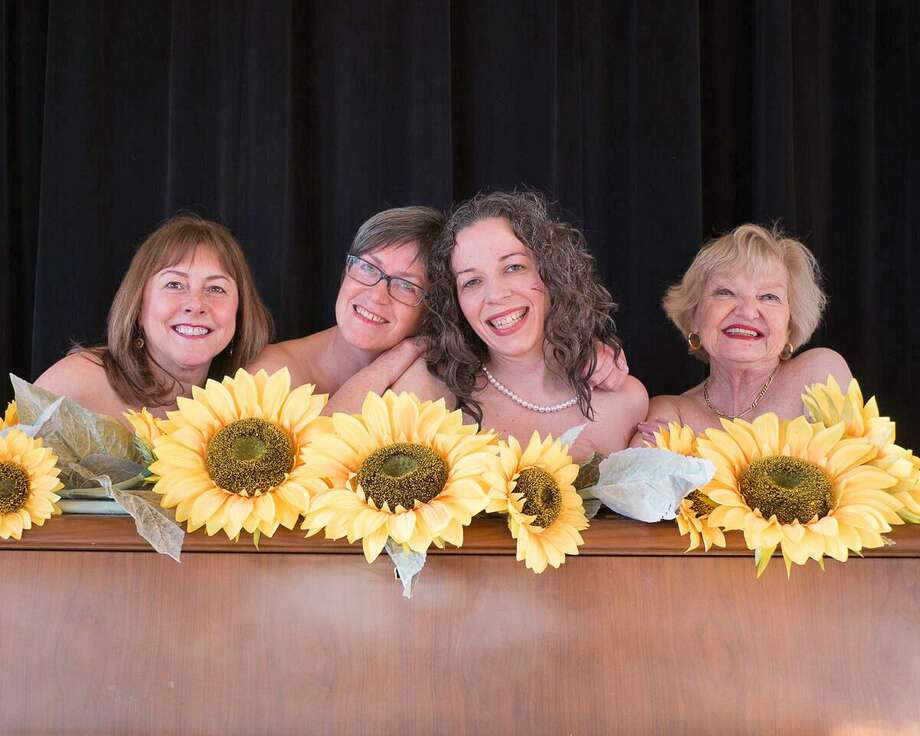 "The cast of ""Calendar Girls"" a production of Community Theater at Woodbury. Photo: Community Theaterr At Woodbury"