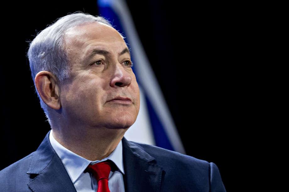 Israeli Prime Minister Benjamin Netanyahu at the Economic Club of Washington in Washington on March 7, 2018. Photo: Bloomberg Photo By Andrew Harrer. / © 2018 Bloomberg Finance LP
