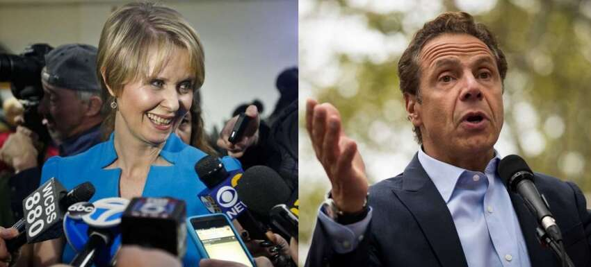 Gov. Andrew M. Cuomo has a massive lead in the Democratic gubernatorial primary, according to a Siena Research Institute poll released on Tuesday.