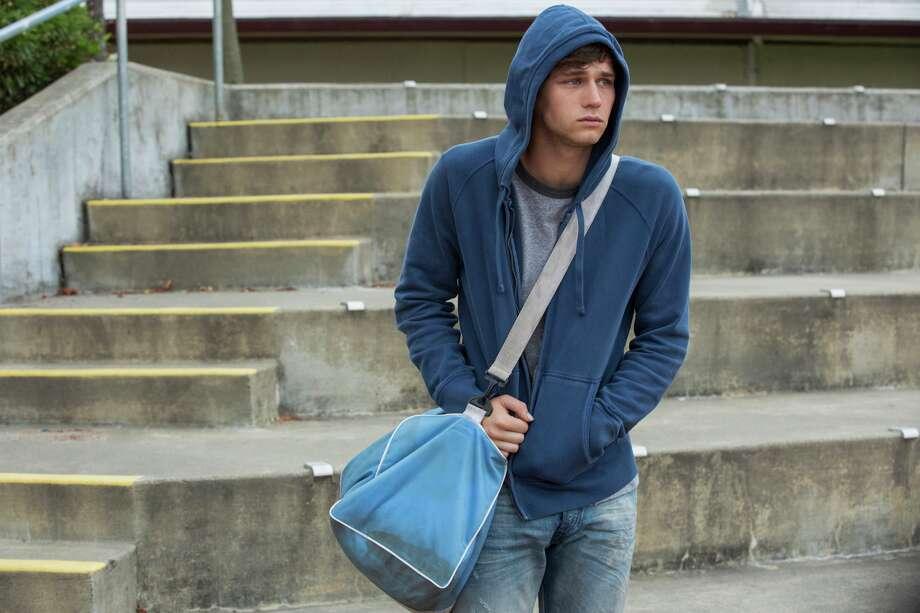 "Brandon Flynn in season two of Netflix's ""13 Reasons Why."" Photo: Beth Dubber/Netflix"