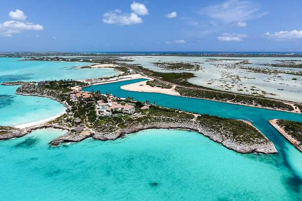 A New York auction house is taking sealed bids on an exotic island villa Prince owned in the Turks and Caicos Islands in the Atlantic Ocean. (Courtesy Premiere Estates Auction Company)