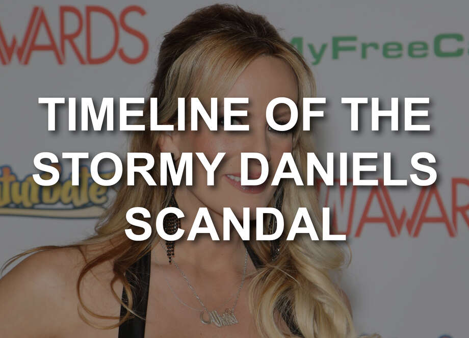 Timeline of the Stormy Daniels scandal. Photo: Gabe Ginsberg/Getty Images
