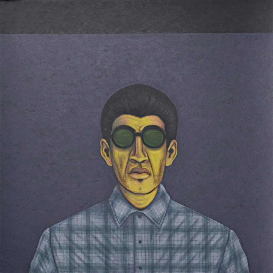 """Bato Con Sunglasses"" is among paintings by César Martínez in the group show ""Right Here, Right Now: San Antonio"" at the Contemporary Arts Museum Houston through Aug. 5. Photo: Courtesy Of The Artist / Ruiz-Healy Art, San Antonio"
