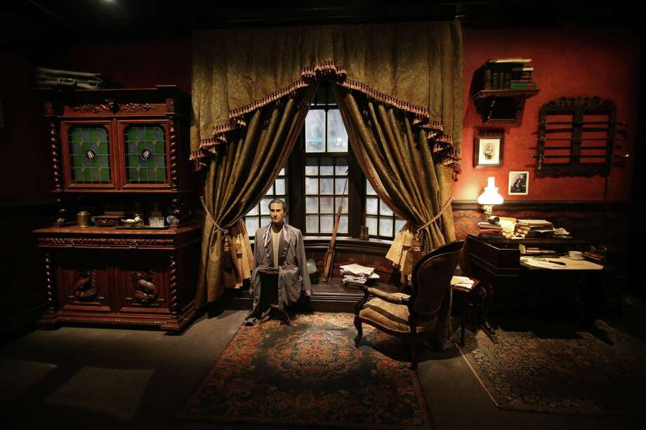 A scene from the International Exhibition Of Sherlock Holmes. Photo: Courtesy Photo / Courtesy Photo