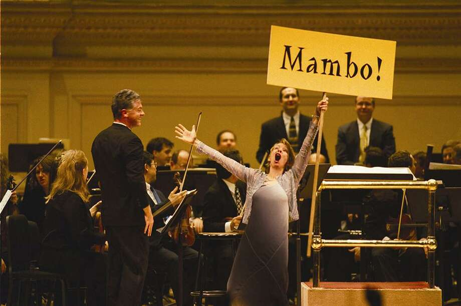 "Jamie Bernstein takes part in a performance of Leonard Bernstein's music from ""West Side Story."" Photo: Courtesy Photo / Courtesy Photo"