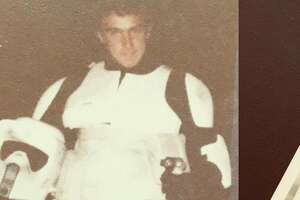 "Robert Jonsen, the Police Chief of Palo Alto, had a role as a stormtrooper in ""Return of the Jedi."""