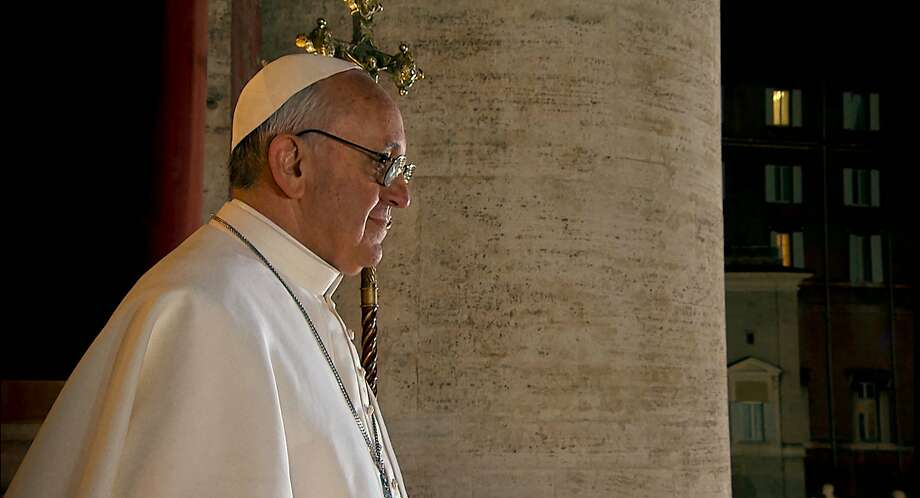 "Pope Francis in ""Pope Francis: A Man of His Word,"" a documentary by Wim Wenders. Photo: Focus Features, POPE FRANCIS - A MAN OF HIS WORD"