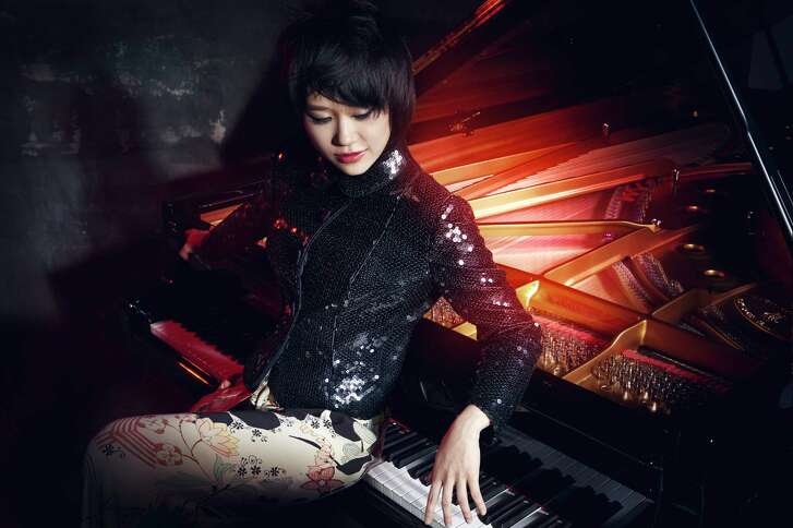Yuja Wang will perform Ravel's virtuosic Concerto for the Left Hand during the Houston Symphony's Opening Night Concert in September.