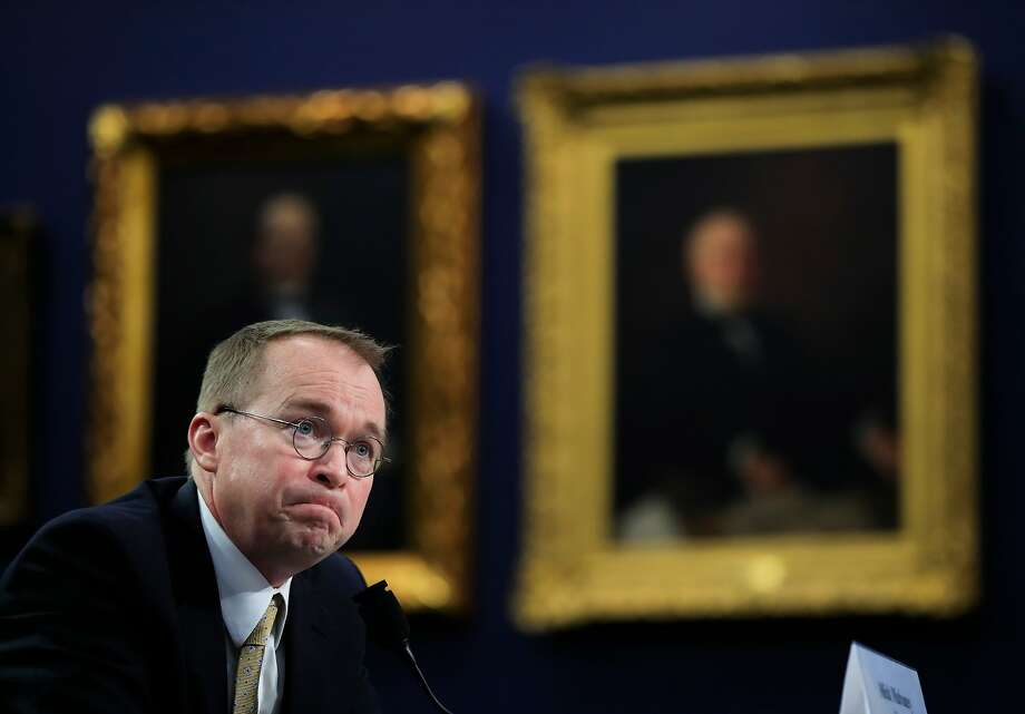PHOTOS: Student loan debt hits the U.S. economyOffice of Management and Budget Director Mick Mulvaney testifies before a House Appropriations Committee hearing in April 2018. The Trump administration pulled back on investigating potential abuses by companies in the $1.5 trillion student loan market. (AP Photo/Manuel Balce Ceneta, File) >>>Learn how far some borrowers would go to erase their student loan debt, according to a LendEDU survey ... Photo: Manuel Balce Ceneta, Associated Press