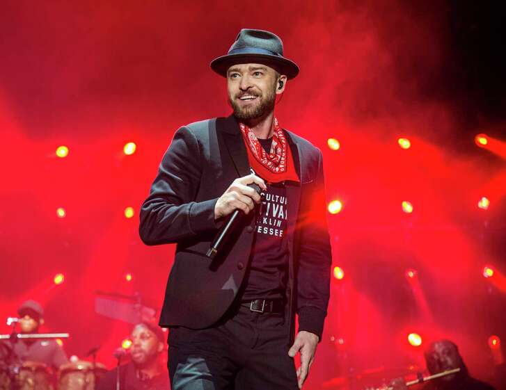 Justin Timberlake performs at Toyota Center May 23 and 25.