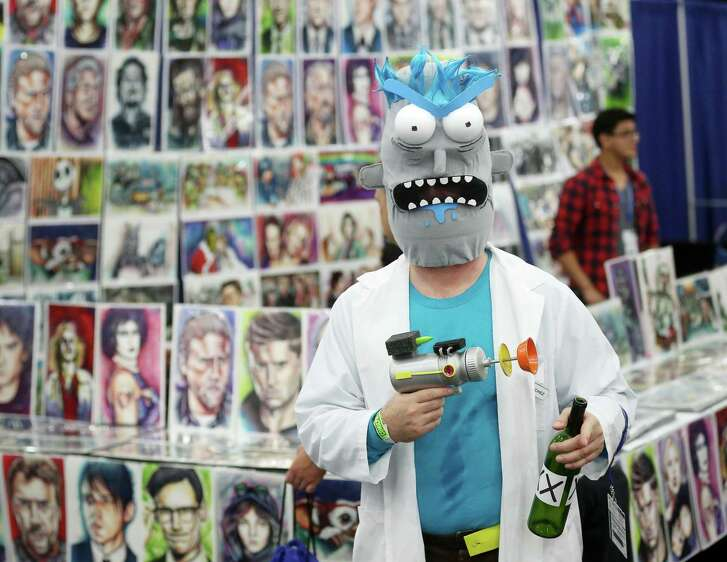Cosplay is the name of the game at Comicpalooza at the George R. Brown Convention Center.